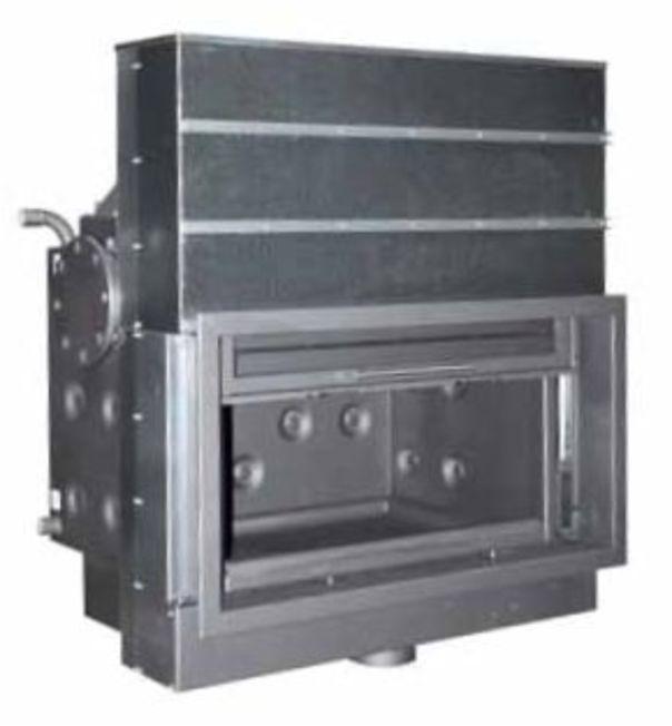 Chimenea itaca 100 basic calefactora lacunza lopetegi for Chimenea calefactora